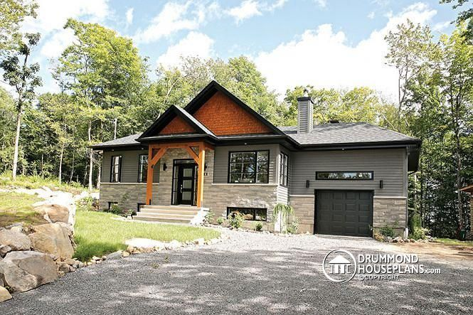 Exterior Example We Like The Craftsman Style Gray Color