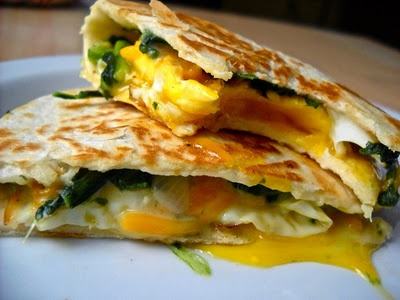 Egg Florentine Quesadillas: Budget Byte, Eggs Quesadillas, Breakfast Time, Eaten Eggs, Breakfast Treats, Eggs Florentine, Cream Spinach, Florentine Quesadillas, Breakfast Recipes