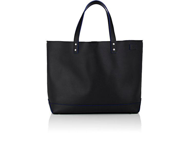 JACK SPADE DOUBLE-HANDLE TOTE BAG. #jackspade #bags #leather #hand bags #canvas #tote #