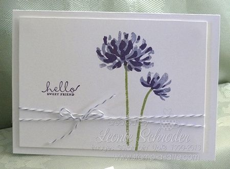 Stampin' Up! Too Kind: