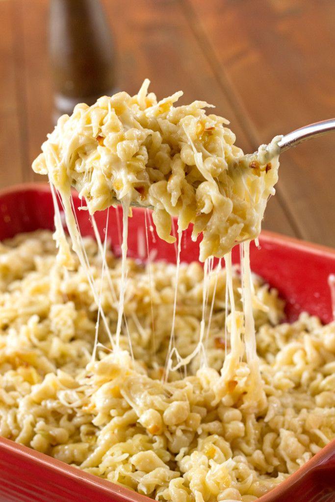 La recette traditionnelle des spaetzles au fromage de Grand-mère Maria