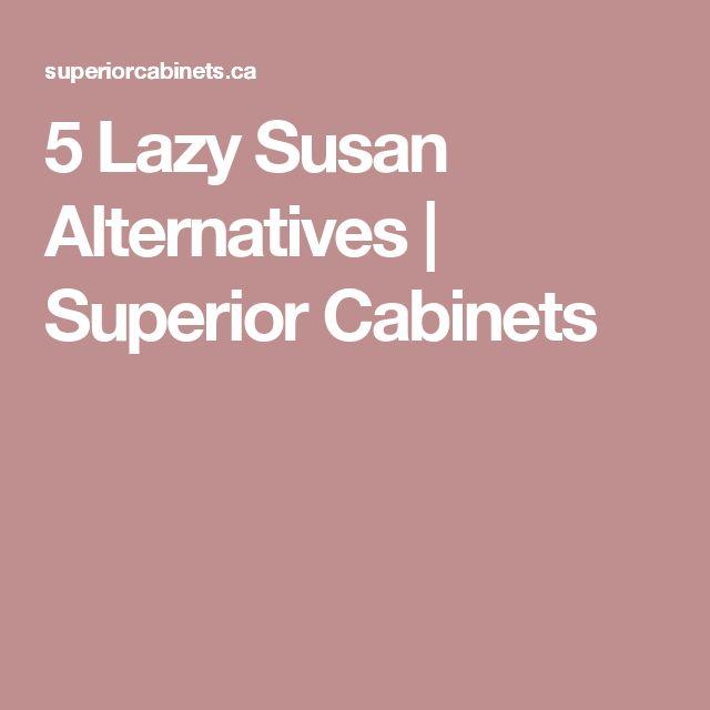 5 Lazy Susan Alternatives | Superior Cabinets