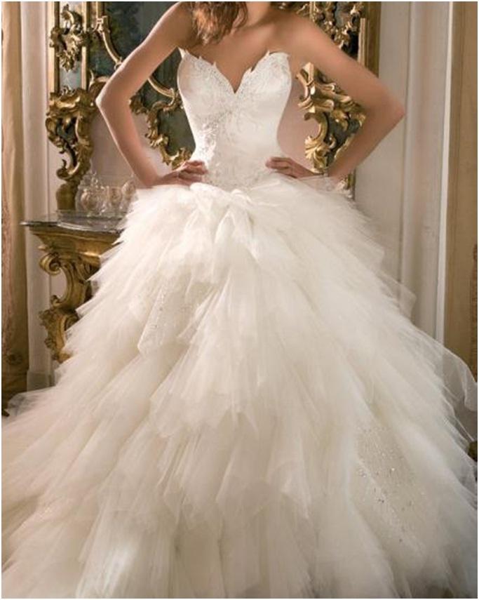 Swan Princess Inspired Wedding Gown Swan Angel Costumes