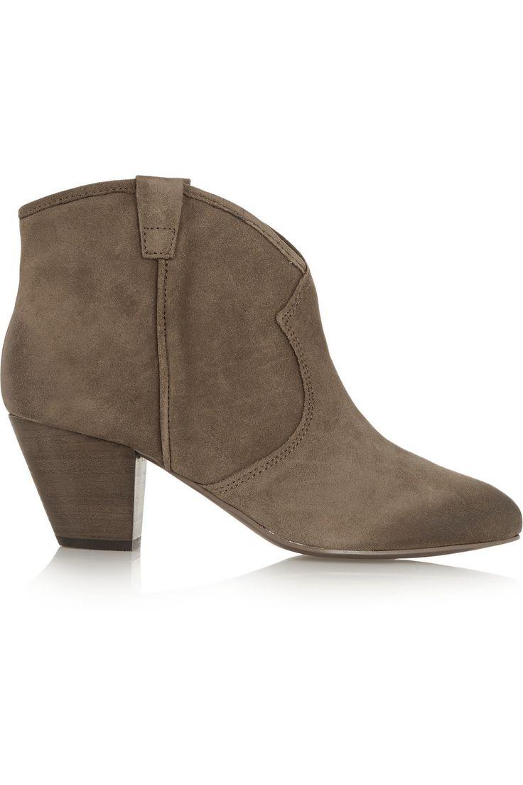 ASH Jalouse suede ankle boots. #ash #shoes #boots