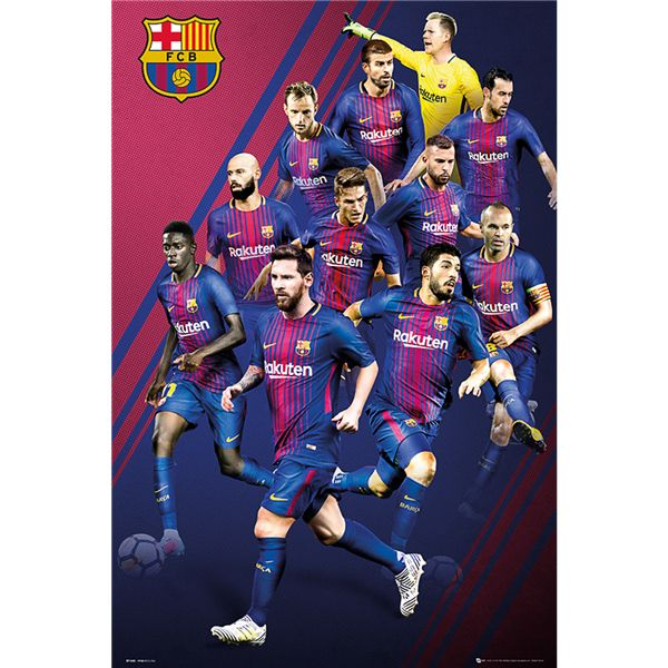 Buy Barcelona Player Poster 17/18 from SOCCER.COM. Best Price Guaranteed. Shop for all your soccer equipment and apparel needs.