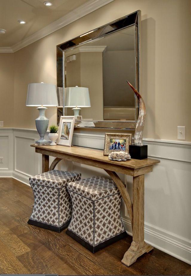 Lovely Skinny Hallway Table