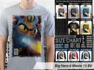 Kaos Film Big Hero 6 Movie Terbaru, Kaos Japan Big Hero 6 Movie, Kaos Big Hero 6 Movie Baymax, Kaos Big Hero Hiro Hamada