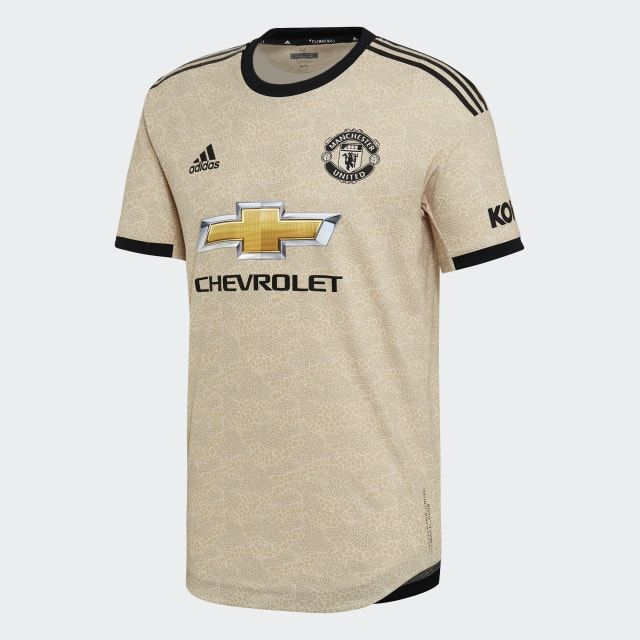 Adidas Manchester United Away Authentic Jersey Beige Adidas Us In 2020 Manchester United Football Club Manchester United Manchester United Football
