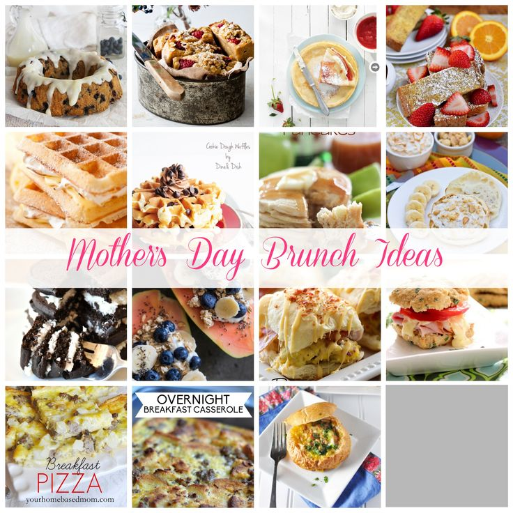 Looking for some last minute Mother's Day Brunch Ideas? Don't miss any one of these 15 amazing recipes.