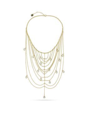 Laundry By Shelli Segal Women Gold-Tone Multi Chain Collar Necklace - Gold - 16 In.