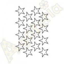 Tło gwiazdki kontur