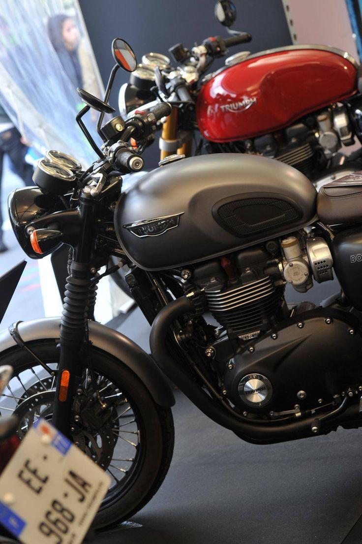 Bonneville T120 Black de la marque Triumph Motorcycles #MondialAuto