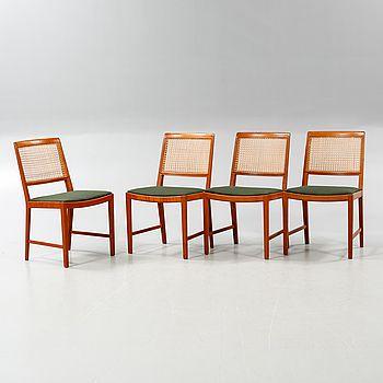 BERTIL FRIDHAGEN, stolar, 4 st, Bodafors, 1963. - Bukowskis
