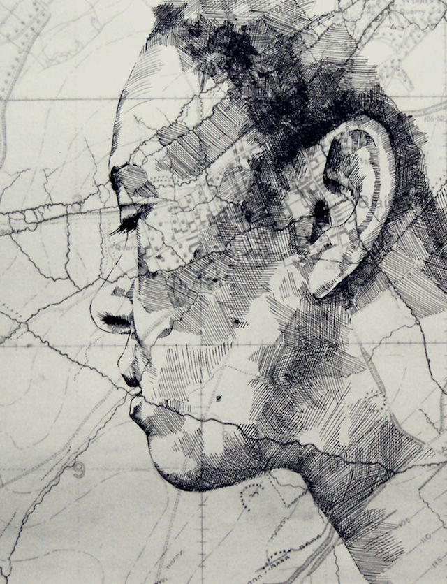 Map Portraits by Ed Fairburn 7