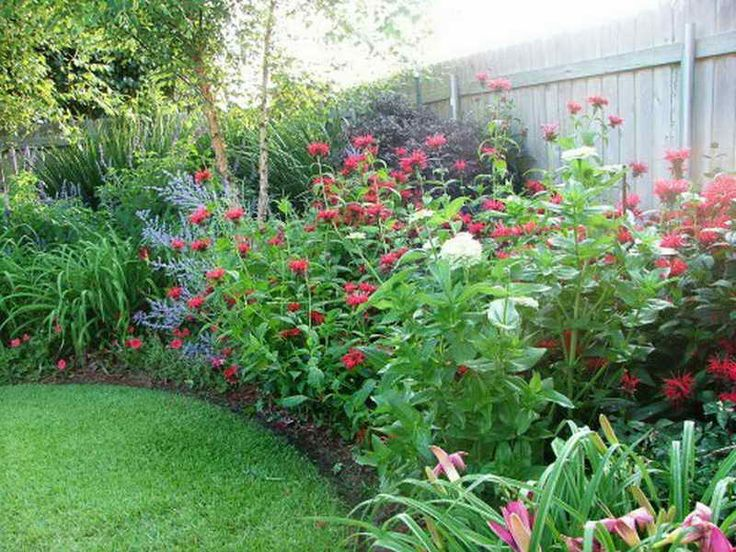 Southern Perennial Landscape With Color.my Dream Yard (curved Garden Beds).  Find This Pin And More On Flower Garden Design Ideas ...