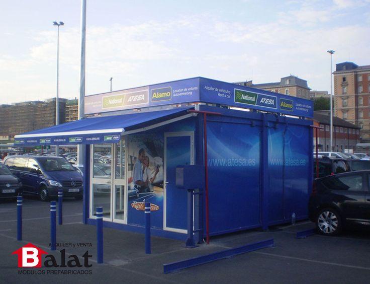 Oficina modular caseta de vigilancia para atesa madrid - Modulos de vivienda prefabricados ...