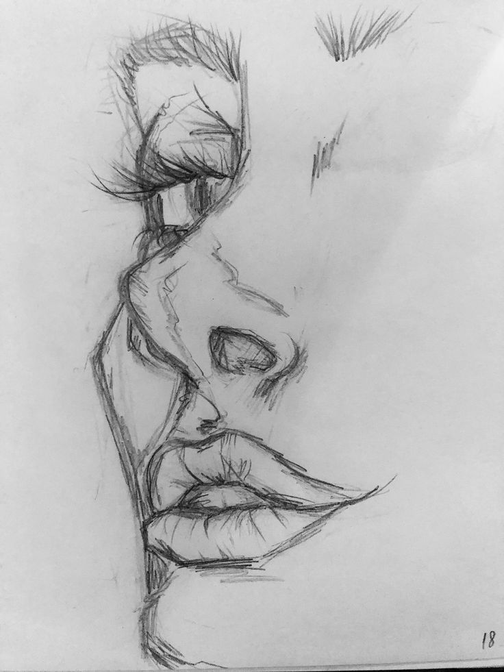 pencil drawing drawings easy sketch sketches simple cool realistic stick draw exercise painting bleistiftzeichnungen zeichnungen basis tutorial aesthetic lips tutorials