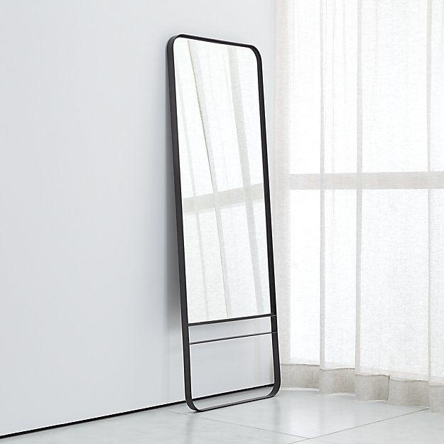 Rhea Floor Mirror Crate And Barrel Floor Mirror Black Mirror Frame Mirror