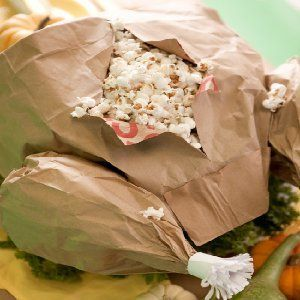 paper bag crafts | … parchment or wax paper to line the paper bag to avoid grease marks
