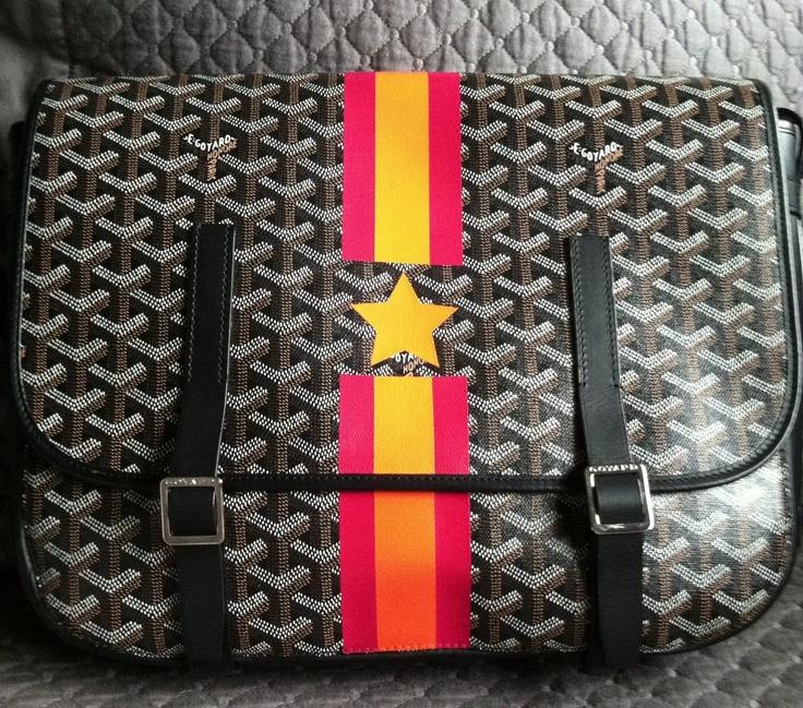 #goyard messenger bag.
