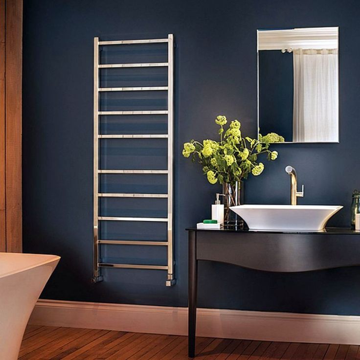 Bisque Gio Stainless Steel Towel Rail #radiator #bathroom