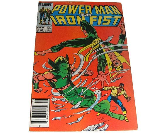 Power Man and Iron Fist 106 Marvel Comics 1984