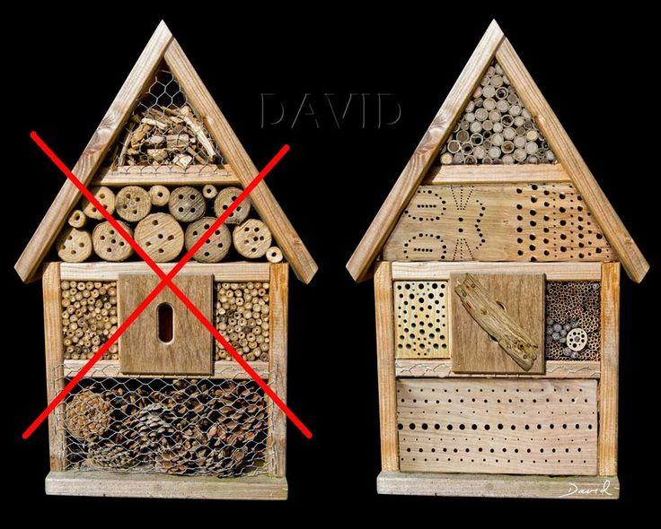 Nisthilfe Insektennisthilfe Insektenhotel Negativbeispiel Praxisuntauglich insect hotel mason bee insect nesting aid
