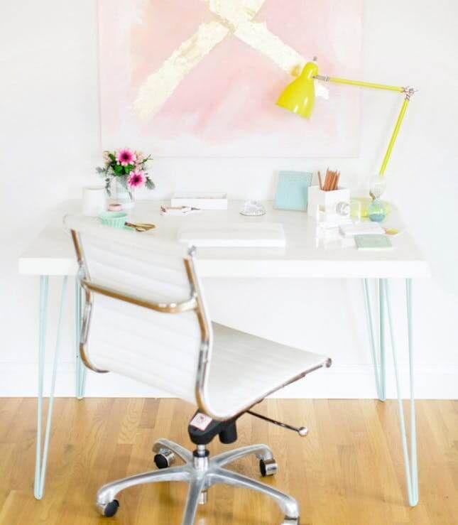 24 Creative And Useful Ikea Office Furniture Hacks Ikea Desk