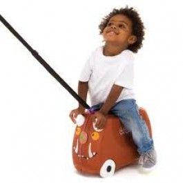 Trunki Gruffalo trolley! Het Trunki concept moedigt kinderen aan om actief aan het reizen deel te nemen. Erg leuk voor vakantie,logeren, weekendje weg enzovoorts!