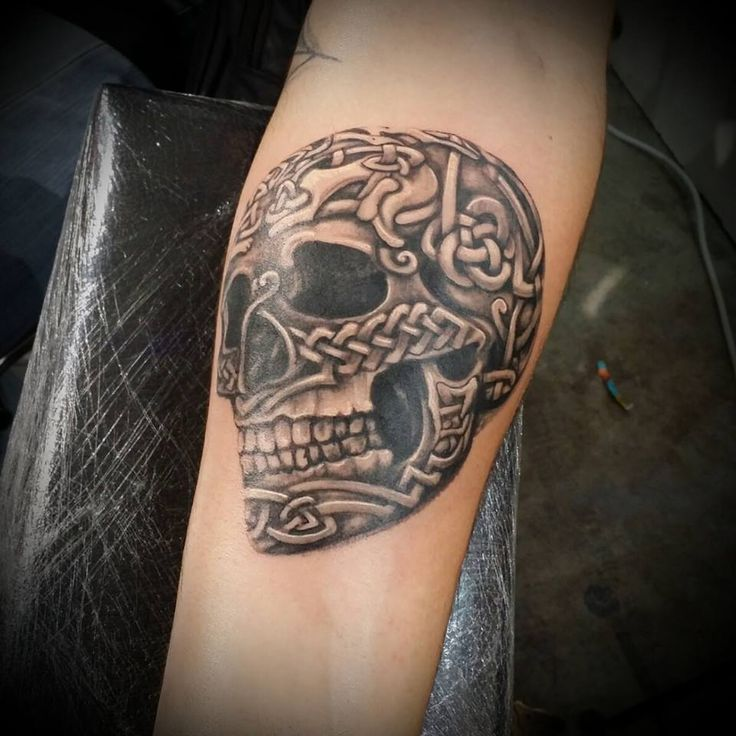 54 best images about ink ideas on pinterest sugar for Celtic skull tattoo