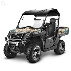 Tracker 550 Utility Vehicle with camo design. For more info: http://www.fresh-group.com/utility-vehicles.html
