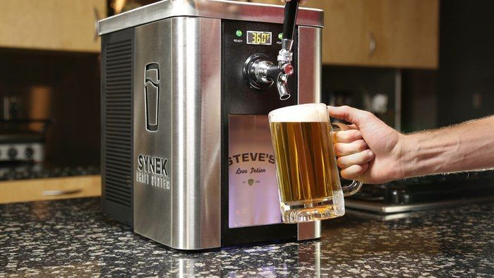 SYNEK promises more sipping variety with its beer-in-a-box mini-tap system