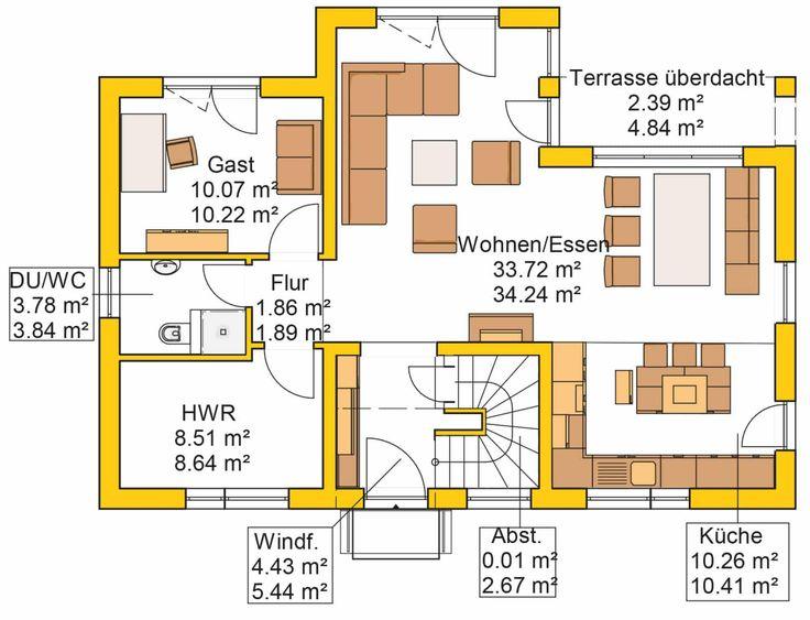 150 besten grundrisse bilder auf pinterest kern haus grundriss einfamilienhaus und grundriss. Black Bedroom Furniture Sets. Home Design Ideas