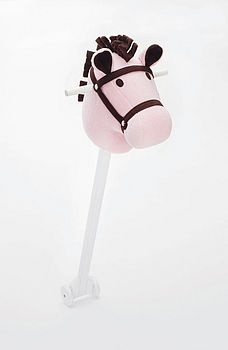 Sally Shufflepants Pink Penny Hobby Horse