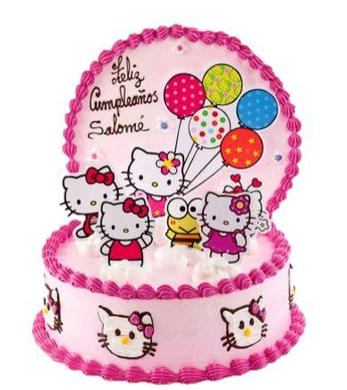 Torta infantil hello kitty