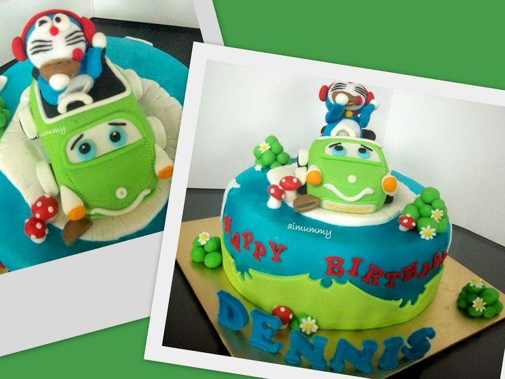AiMummy: Doraemon cake