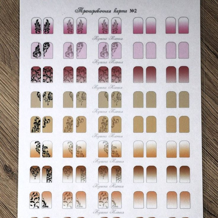 рейтингом схемы картинок на ногти элементы могут включать