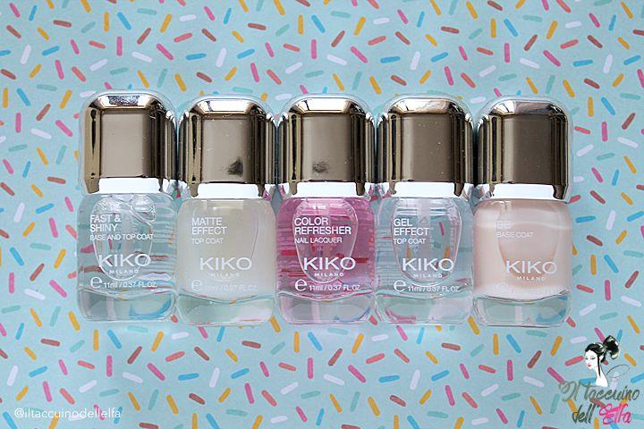 Kiko Milano Nail Care Collection - Quando vuoi realizzare la manicure perfetta (e ci riesci!) | Il Taccuino dell'Elfa