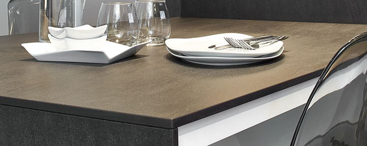 Inspired by the volcanic stone used in architecture throughout history, Neolith's Basalt Black embraces all of the sultry, dramatic beauty of basalt stone, without the porosity and stain-prone characteristics that make it impractical for interior design.