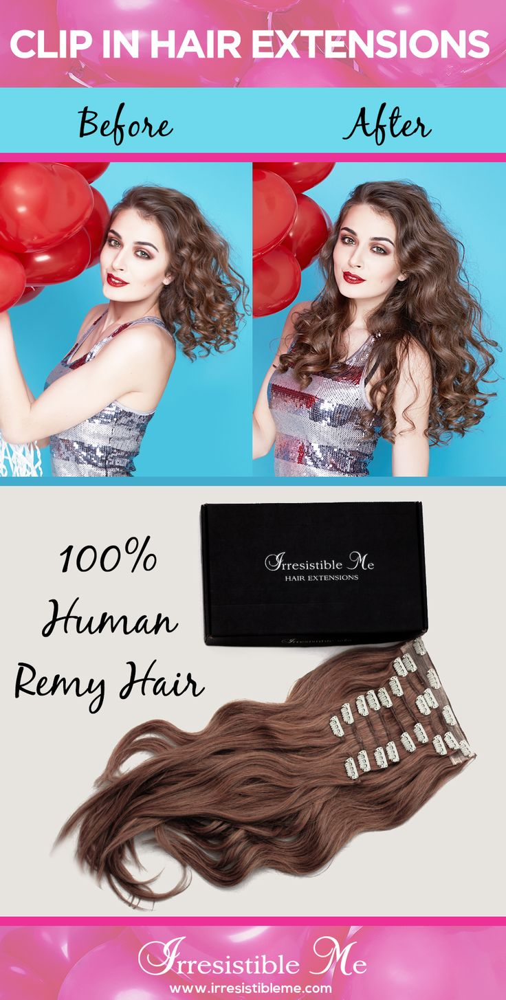 Make a dramatic hairstyle change with Irresistible Me 100% human Remy clip-in hair extensions. Can be cut, dyed and heat styled. Great selection of colors. You can choose the length and weight. Free returns and exchanges, worldwide delivery. Fill in our fun quiz to get options tailored for your style. Big Spring Sale on site between March 18 - March 31 2016.