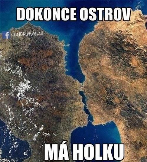 Dokonce i ostrov