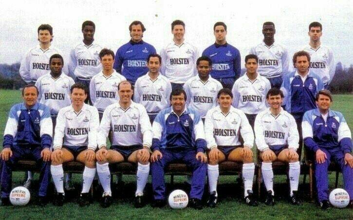 Spurs 1988 Team Photo   Tottenham Hotspur Football Club