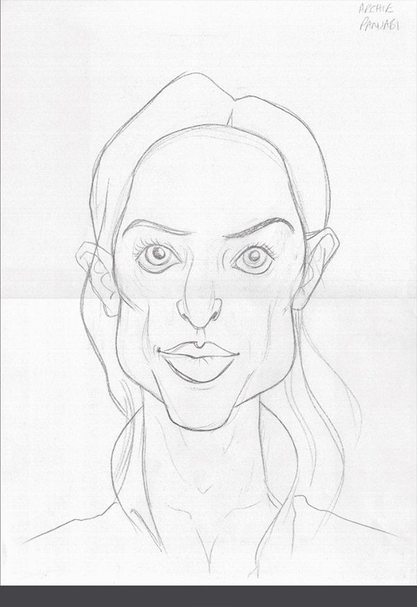 Archie Panjabi art | decor | wall art | inspiration | caricatures | home decor | idea | humor | gifts