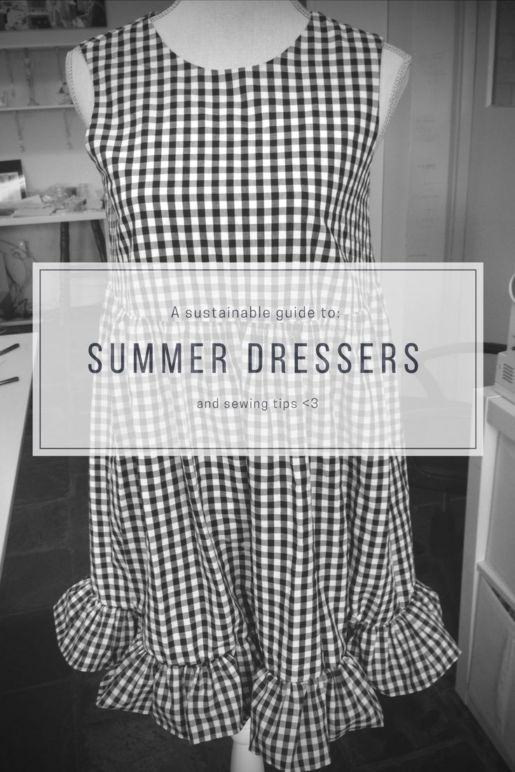#summer #dress #sewing #sustainable #SensationalSewing #sewingtips #learntosew