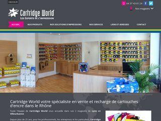 Cartridge world : spécialiste de la vente et de la recharge de cartouches d'encre