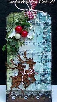 """Милые сердцу штучки: """"Новогодние карточки или еще одна оригинальная идея для…"""