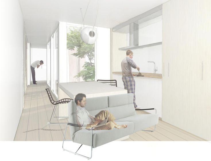 """© Elena Aromir Puig - """"Un nou concepte de bungalou"""" - TFG EINA"""