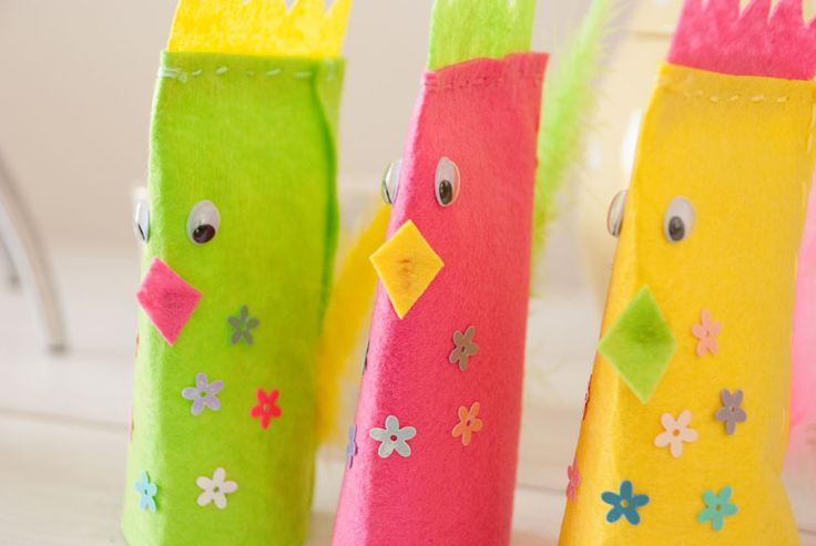 Easter chicks DIY