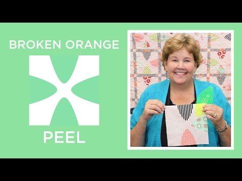 patchwork - blocco orange peel