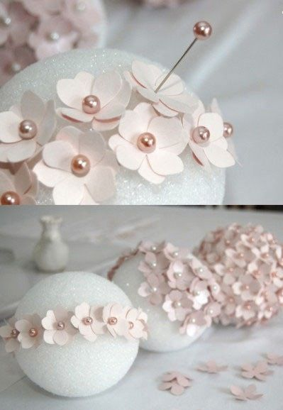 Super beautiful origami flower ball tutorial wedding bouquet of lilac DIY method